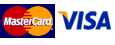 Mastercard and Visa credit and debit cards are accepted by this payment service